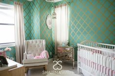 Project Nursery - Hollywood Glam Nursery