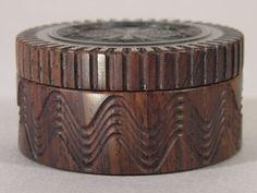 Ornamental Turning Gallery of James Harris--Rose Disc Series Box Gallery 2