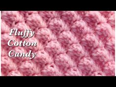 Hi 👋 my name is Sara welcome to my channel Crochet for Baby. In today's tutorial I will show you how to crochet my fluffy cotton candy crochet stitch. Easy Crochet Stitches, Single Crochet Stitch, Double Crochet, Crochet Hook Sizes, Crochet Hooks, Baby Blanket Crochet, Crochet Baby, Knit Crochet, Cotton Crochet