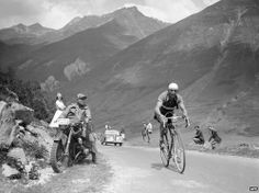 Gino Bartali competing in the Tour de France in 1938. The BBC has profiled the Italian cyclist and the role he played in saving the country's Jewish population during World War II.