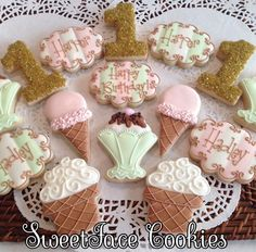 I Scream, You Scream, We all Scream for Ice Cream - SweetFace Cookie Boutique