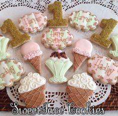 I Scream, You Scream, We all Scream for Ice Cream - SweetFace Cookie Boutique