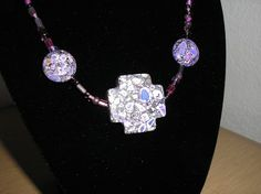 Genuine reconstituted purple turquoise by CreationsbyMaryEllen, $11.25
