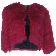 Miu Miu Jacket (138.780 RUB) ❤ liked on Polyvore featuring outerwear, jackets, fuchsia, feather jackets, miu miu, single breasted jacket, purple jacket and miu miu jacket