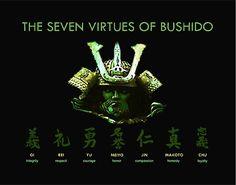 7 Virtues of Bushido by undersideland