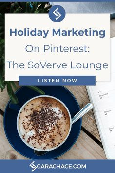 Listen to Stephanie of The SoVerve Lounge and Cara of carachace.com talk all things Pinterest and holiday marketing. Learn about best practices, Shop The Look, affiliate marketing and more.#pinterestmarketing#holidaymarketing Affiliate Marketing, Online Marketing, Marketing Tools, Holiday Market, Work From Home Tips, Selling On Pinterest, Pinterest For Business, Online Entrepreneur, Small Business Marketing