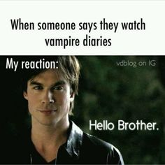 Find images and videos about funny, the vampire diaries and tvd on We Heart It - the app to get lost in what you love. Vampire Diaries Stefan, Vampire Diaries Memes, Vampire Diaries Poster, Ian Somerhalder Vampire Diaries, Vampire Diaries Wallpaper, Vampire Diaries The Originals, Vampire Diaries Workout, Joseph Morgan, Tvd Quotes