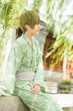 Knitemaya as Makoto - Free!