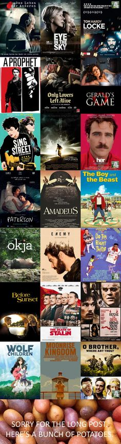 Movies I like that I don't often see on lists here - Warning: many different genres