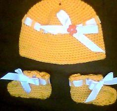 Baby set 3-orange