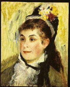 Pierre-Auguste Renoir - Portrait de Madame Edmond Renoir