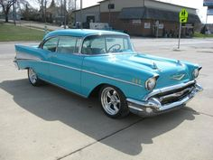 Classic Cars – Old Classic Cars Gallery 1957 Chevy Bel Air, Chevrolet Bel Air, Chevrolet Trucks, Chevrolet Impala, Classic Chevrolet, Rat Rods, Ford Diesel, Diesel Trucks, Luxury Private Jets