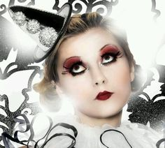 Harlequin Makeup Idea