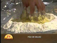 Pão de milho - YouTube