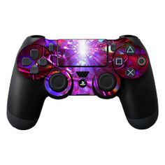 Protective Vinyl Skin Decal Cover for Sony PlayStation DualShock 4 Controller Sticker Skins Crimson Trip - http://androidizen.com/shop/protective-vinyl-skin-decal-cover-for-sony-playstation-dualshock-4-controller-sticker-skins-crimson-trip/