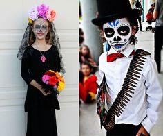 Disfraz calavera mexicana. Cómo hacer un disfraz de calavera mexicana para el Día de Muertos. Disfraz casero y maquillaje de calavera mexicana.