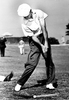 Ben Hogan New Point of Impact Golf Photo AMAZING RARE