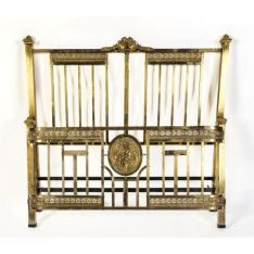 Iron And/or Brass - Beds - Carter's Price Guide to Antiques and Collectables