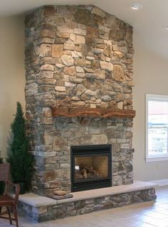 43 Cozy family room with fireplace Rustic decor - . - 43 Cozy family room with fireplace Rustic decor – … – 43 cozy - Corner Stone Fireplace, Fireplace Hearth, Home Fireplace, Fireplace Remodel, Living Room With Fireplace, Fireplace Design, Fireplace Ideas, Fireplace Decorations, Fireplace Modern