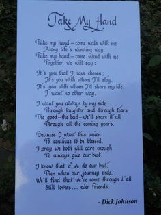 Trendy Wedding Vows To Husband Marriage Brides Sweets Ideas Wedding Verses, Wedding Quotes, Love Poems Wedding, Irish Wedding Blessing, Love Poems For Weddings, Pagan Wedding, Celtic Wedding, Wedding Vows That Make You Cry, Wedding Ceremony Readings