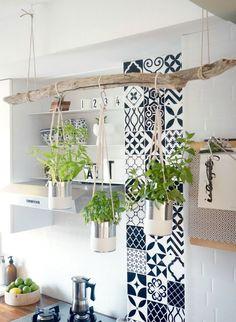 DIY: colgador de cocina | Deco con Sailo - Blog de decoración, DIY, diseño, un montón de ideas low cost para decorar tu casa