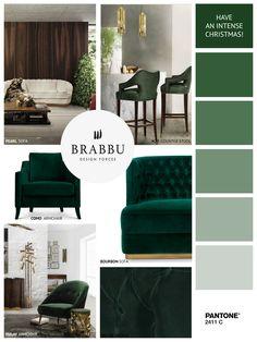 BRABBU wishes you an intense Christmas!   Christmas Decorations. Interior Design. Home Decor. #homedecor #interiordesign #Christmas Discover our collection at brabbu.com