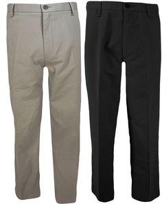 Dockers Pants 32 36 Comfort Waist Khaki Flat Front Cool Effects No Wrinkles NEW #DOCKERS #KhakisChinos