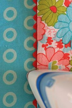 trick for sewing rickrack