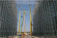 Avtomatizirano skladišče izdelkov plošč VRS 2   Naročnik: Trimo Trebnje  Leto izdelave: 2003 Wind Turbine