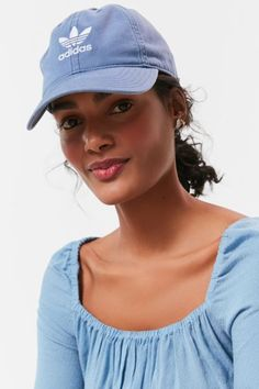 26cfb88d96296 adidas Originals Relaxed Strapback Baseball Hat