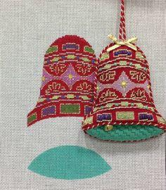 2014 show model, labors of love 3-d needlepoint bells