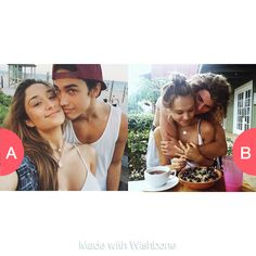 Relationship Goals? 1st Pic or 2nd Pic? Tap to vote http://sms.wishbo.ne/U1ak/iqmDd985zy