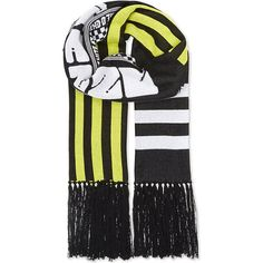 Kenzo Team sport cotton scarf ($130) ❤ liked on Polyvore featuring accessories, scarves, checkered scarves, striped scarves, kenzo, striped shawl and kenzo scarves