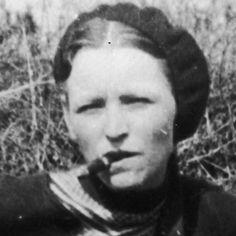 Bonnie Parker, half of 'Bonnie and Clyde' with Clyde Barrow, was one of America's most famous outlaws in the 1930s, robbing banks and small businesses. Their 21-month crime spree spanned Texas, Oklahoma, New Mexico, and Missouri, where they killed at least 13 people and escaped from the police before they were killed at a roadblock near Gibsland, Louisiana, on May 23, 1934.