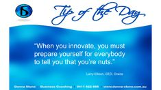 #BusinessCoach #Innovate
