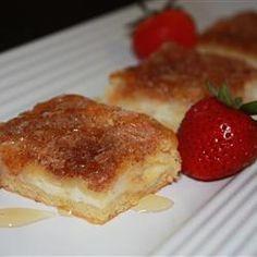 Sopapilla cheesecake bars.  I've made them, and they are addicting.