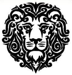 Lion Machine Embroidery pattern