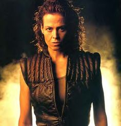 Sigourney Weaver as Ellen Ripley in the Alien movies
