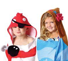 Kids Hooded Beach Towel Kids hooded towels beach