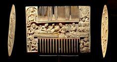 Ivory comb cca 1120, England, St Albans
