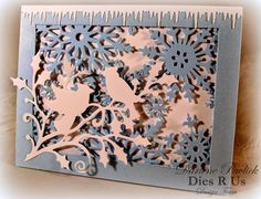 Dar's Crafty Creations: Blue Christmas . . .