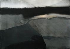 Miklós Szüts: Tuscany, always, aquarell, paper, 50 x 70 cm, 2008/2014