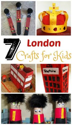 7 fun art projects for kids to help them learn about London.