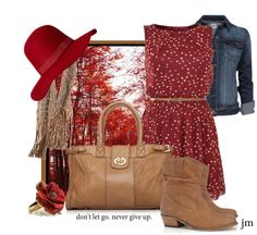 """""""Don't let go."""" by jenniemitchell ❤ liked on Polyvore"""