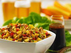 Fruchtiges Kichererbsen-Tempeh ist ein Rezept mit frischen Zutaten aus der Kategorie Südfrucht. Probieren Sie dieses und weitere Rezepte von EAT SMARTER!