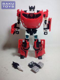 Transformers Universe Classics Sideswipe loose