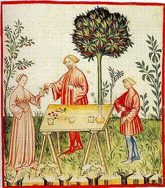 A Feast For The Eyes 28. White Wine; from the Theatrum Sanitatis, Library Casanatense, Rome.