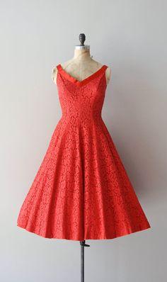 vintage 50s dress | Lovestruck dress