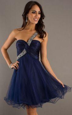 Dark Blue Short Prom Dress 2013 by Dave & Johnny 6596 [Dave & Johnny 6596 blue] - $133.00 : Cheap Designer Prom Dresses 2013 - Unique Prom Dresses Shopping - 65% Off