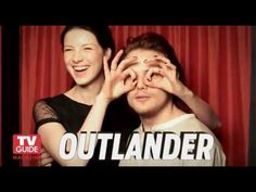 Video: New TV Guide Photo Booth Pics of Sam Heughan and Caitriona Balfe  #Outlander